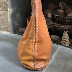Michael Kors leather classic hobo bag